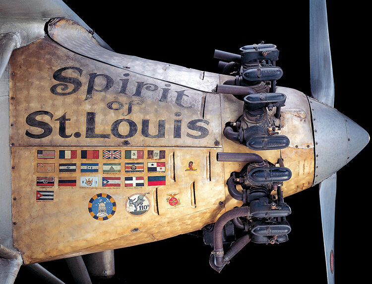 Spirit of St. Louis airplane