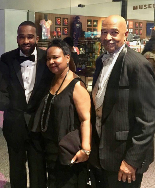 The Lawsons at an event at NMAAHC